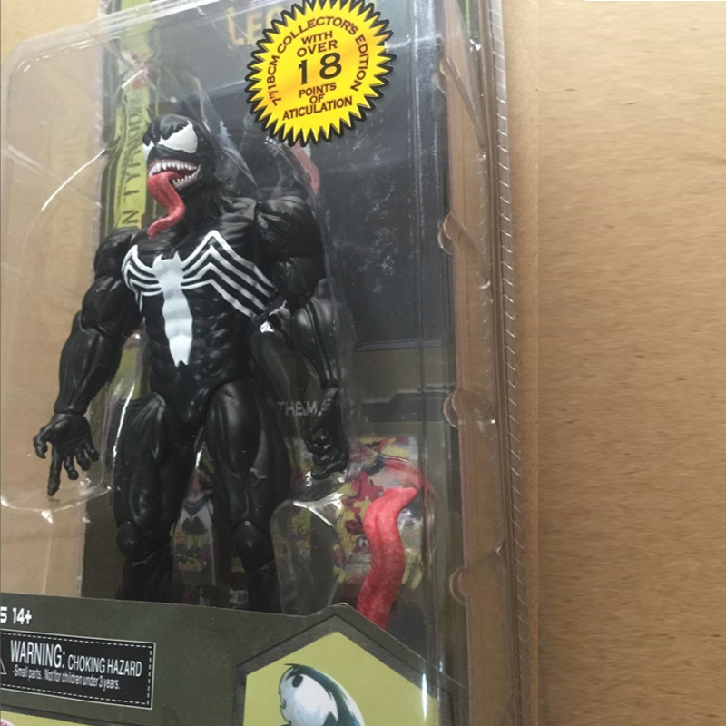 Spider Man Action Figure Venom Spride Collection Model Toys Doll Marvel Action Figures 18cm Spiderman Action Figures in box<br><br>Aliexpress
