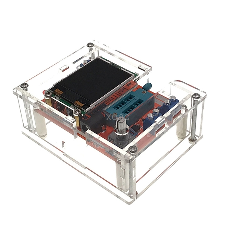 Acrylic Case Shell fr GM328 Transistor Tester TFT Diode LCR ESR Meter PWM Square M13 dropship 2