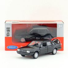 Welly DieCast Model/1:36 Scale/VOLKSWAGEN SANTANA Classical Toy Car/Pull Back Educational Collection/Children's gift/Collection(China)