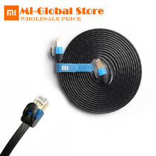 original Xiaomi Ethernet LAN Cable 1000Mbps Millet 0.5m 1m 3m Gigabit Six Patch Networking 24K Gold Plated Crystal Head - Mi-global Store store