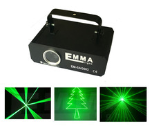 New Arrival Mini 200MW green Lazer Projector light DJ Disco Laser Stage Lighting for Xmas Party Show Club Bar Pub Wedding(China)