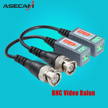 CCTV Accessory 3000FT Distance UTP Video Balun Twisted CCTV Balun Passive Transceivers BNC Cable Cat5 CCTV Adapter