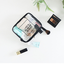 Transparent Cosmetic Bags PVC Makeup Bags Women Travel Organizer Necessary Beauty Case Lady Toiletry Bag Bath Wash Make Up Box