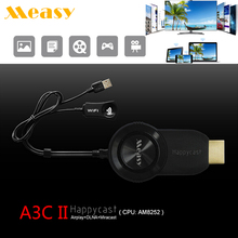 A3C II TV Stick TV Display Receiver 1080P Wifi Mircast Airplay DLNA Dongle Android TV Stick For iPhone For Samsung