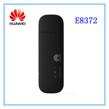 Unlocked Huawei E8372 150Mbps 4G WiFi Dongle LTE Universal USB Modem car wifi E8372h-608 E8372h-153(China)