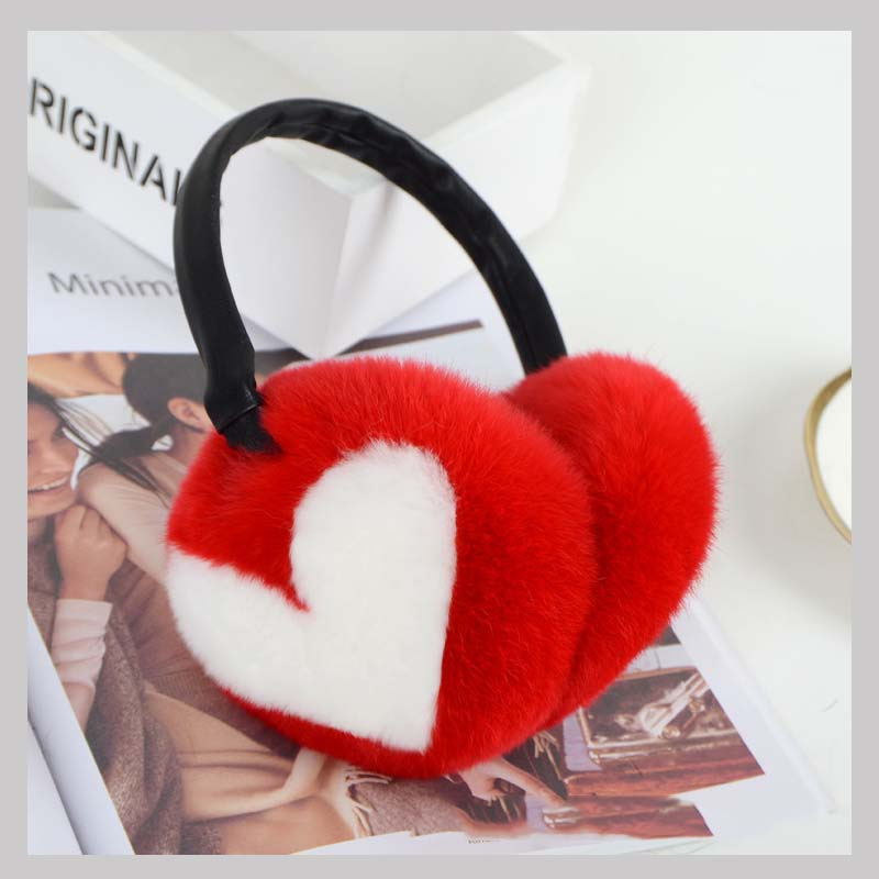 rex rabbit fur earmuff 6