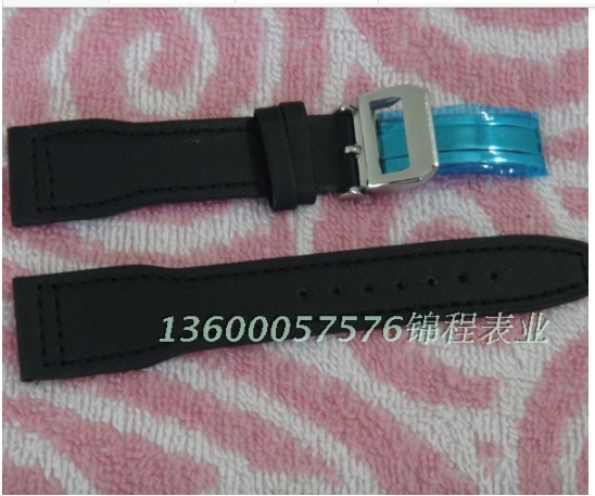 The width of the 22mm black nylon canvas strap single folding clasp<br><br>Aliexpress