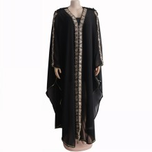 African-Dresses Africa-Clothing Fashion Women Muslim Length for High-Quality 150cm Lady