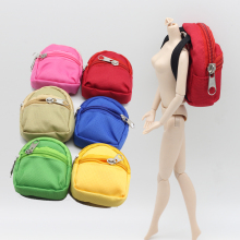 1PCS Dolls Bag Accessories backpack For Barbie Doll For BJD 1/6 blyth doll Best Gift