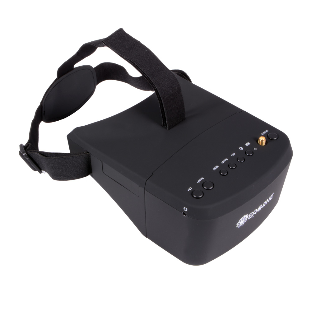 5 Inches 800x480 Eachine EV800 FPV Goggles 5.8G 40CH Raceband Auto-Searching Build In Battery AH221<br><br>Aliexpress