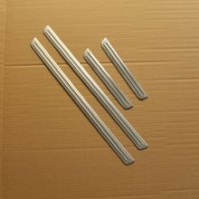 free shipping for Volkswagen golf 7 door sill stainless steel scuff plate threshold sticker accessories 4 pcs