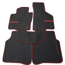 waterproof latex special green rubber car mats for MagotanB7L anti skip easy clean resistant carpets