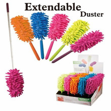 New Telescoping Microfiber Duster Extendable Cleaning Dust Home Office Car Tool(China)