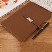 RuiZe 2017 pu leather agenda planner spiral notebook hard cover office stationery notes book 6 ring binder loose-leaf notepad