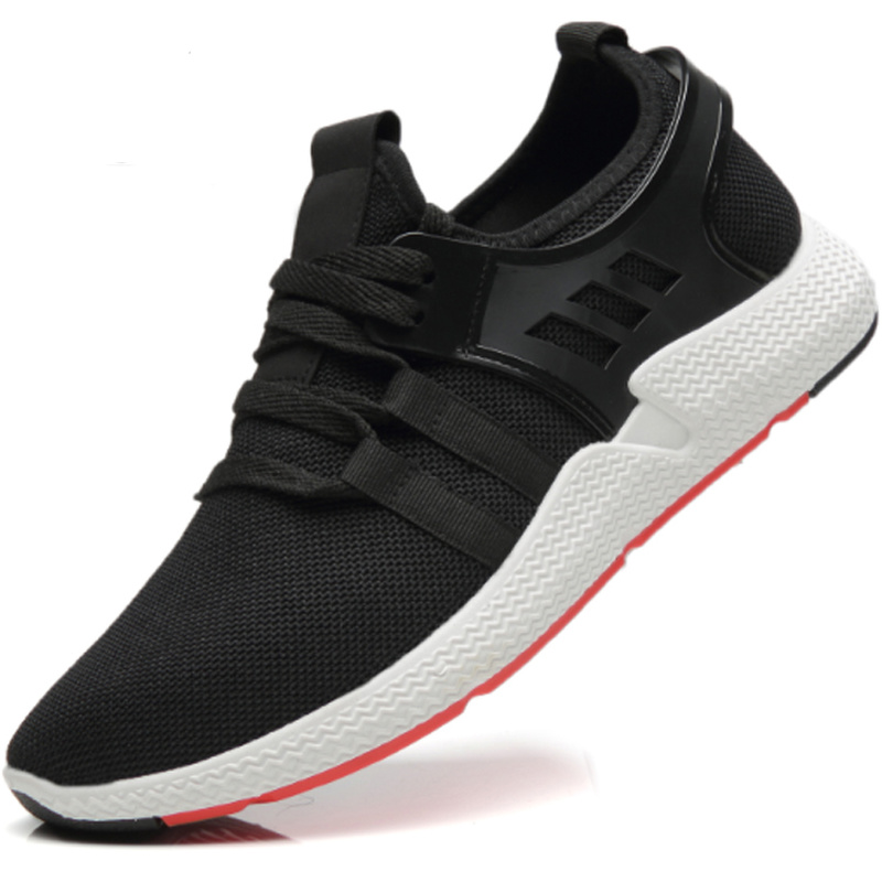 Shoes Aike Asia Hot Mens Mesh Casual Shoes Flying Woven Trend Running Shoes Wild Breathable Sports Shoes High Quality Cushion Shoes Men's Shoes