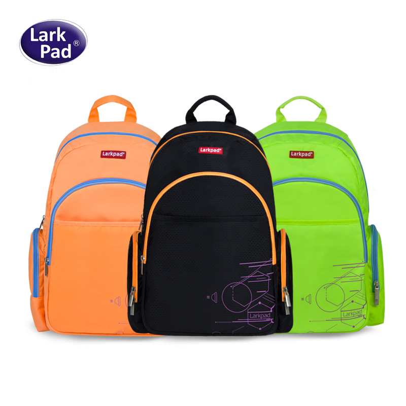 Larkpad fashion bag backpacks for female and male Large Capacity Nylon Bags waterproof school bags for girls boys machila bag<br>