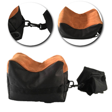 Portable Gun Shooting Sand Front & Rear Bench Rest Bag Bracket Hunting Grab Bag Target Unfilled Stand Gun Accessories