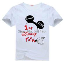 Family Vacation t shirts trip to Custom mouse Ears shirt for kids children boy girl cartoon t-shirt