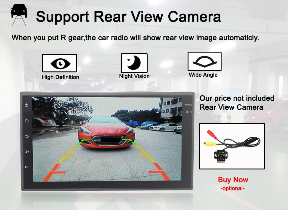 6 rear view camera