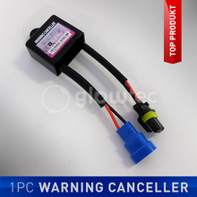 1Pc XENON ERROR FREE Warning Canceller HID CAR Lights Decoder Auto HID Lamp Relay Capacitor Load Resistor Canbus GLOWTEC(China)