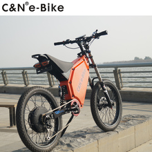 2017 Popular Powerful 72v 3000w Electric Bike Electric Motorcycle Mountain Bike for sale(China)