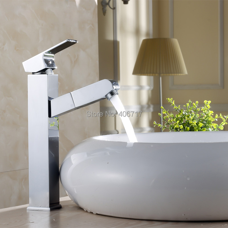 New Arrival Tall Faucet Vintage Style Bathroom Basin Sink Faucet Brass Mixer Tap Dual Handles Deck Mounted<br><br>Aliexpress