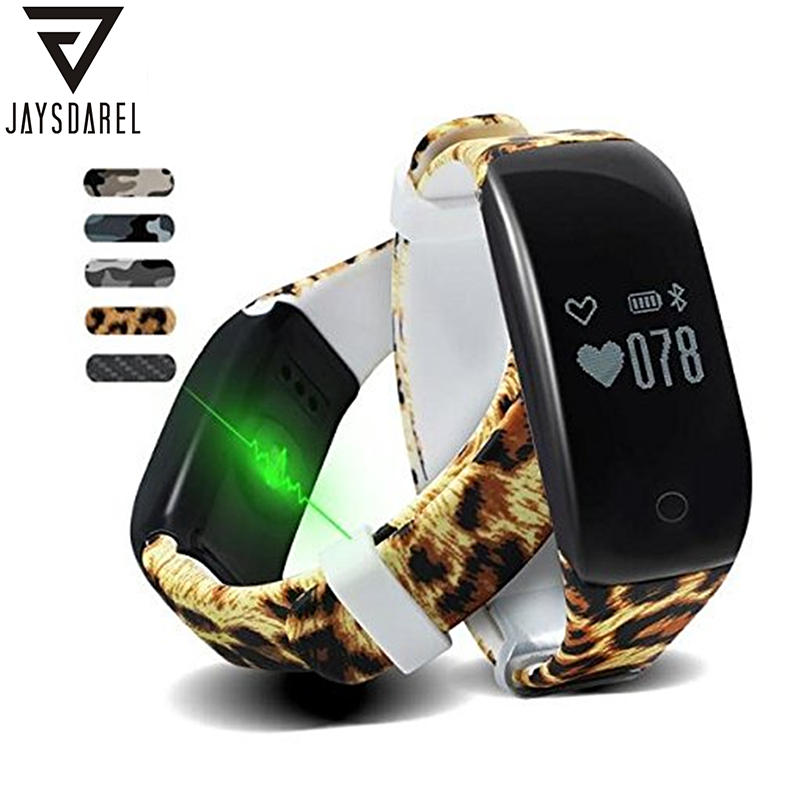 JAYSDAREL H5 Heart Rate Monitor Smart Watch Swimming Wearable IP67 Waterproof Smart Fitness Sport Bracelet for Android iOS<br>