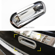 FIT FOR HONDA CR-V CRV 2012 2013 2014 2015 CHROME REAR TRUNK BOOT DOOR HANDLE BOWL COVER TAILGATE INSERT TRIM ACCESSORIES