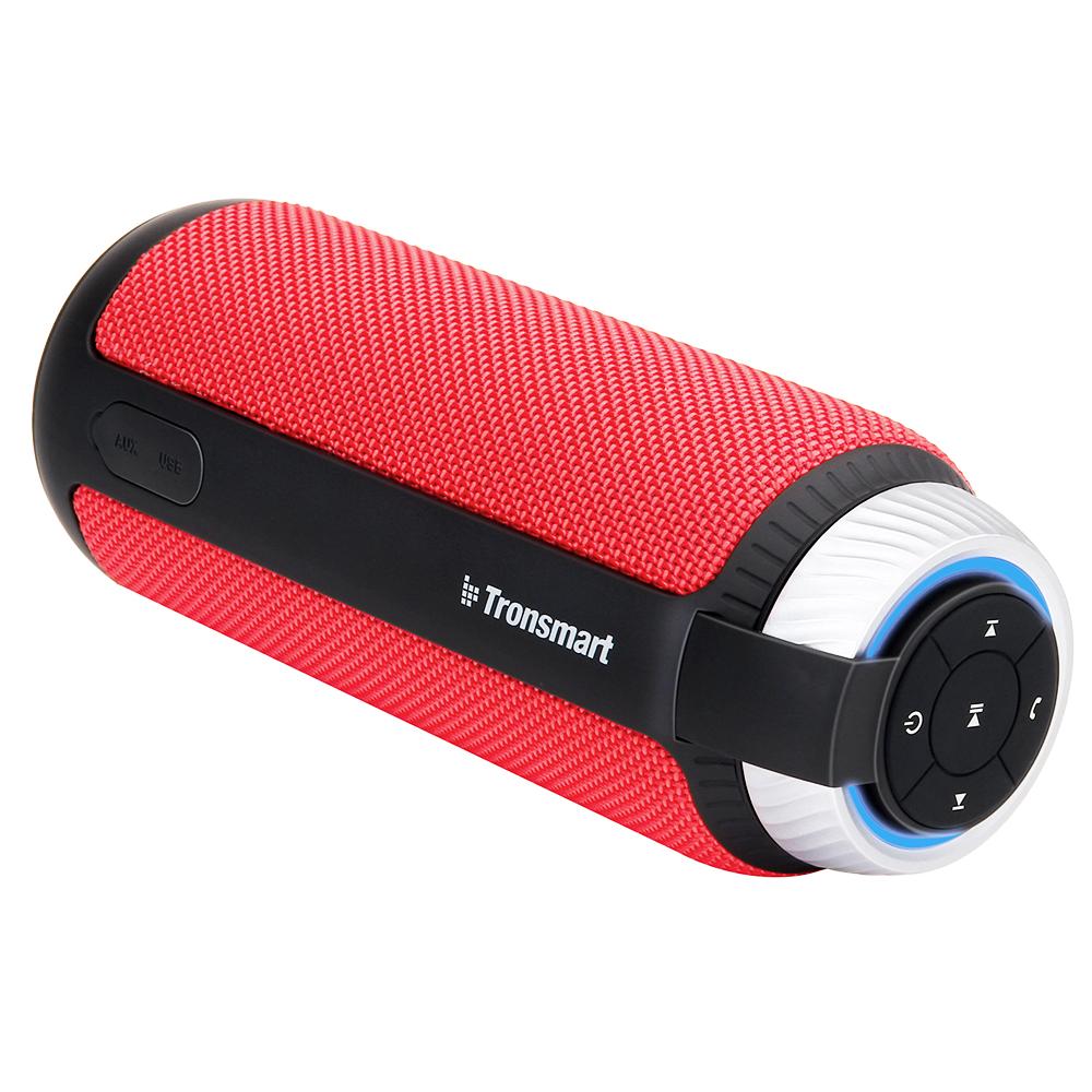 NEW TRONSMART ELEMENT T6 BLUETOOTH PORTABLE SPEAKER WIRELESS SOUNDBAR RECEIVER MINI SPEAKERS RED 2