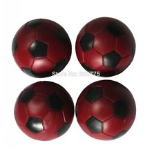 Foosball balls 36 mm 4 pcs Red babyfoot  Table Foosball balls soccer Table balls Mini football ball 24g/pcs table football