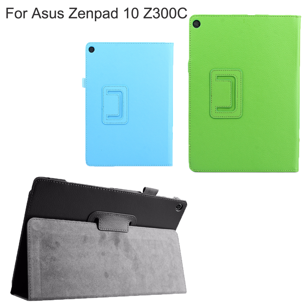 Viviration For Asus ZenPad 10 / Z300 Z300C Z300CL Z300CG Z300M Z301 Case PU Leather Smart Hard Cover Holder Case For Asus Z300