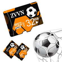 Football Micro SD Card 4GB 8GB mini sd card 16 GB 32GB 64GB Class 10 Memory Card Flash Memory for cell Phones Tablet Camera