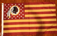 Washington Redskins USA star stripe Premium American Football Team Flag 3X5FT Drop Shipping Custom Club Sport Flag