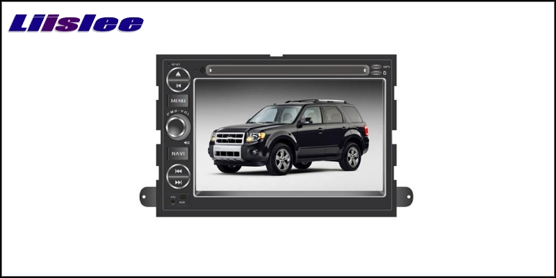 For Ford For Focus Fusion Explorer 500 F150 Edge LiisLee Car Multimedia TV DVD GPS Audio Hi-Fi Radio Original Style Navigation 2