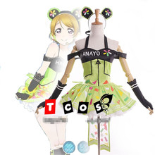 Love Live Koizumi Hanayo Shining Stars Dress Video Games Girls Cosplay costume New Skirt T320157(China)