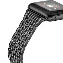 For Apple Watch Series 1 2 3 38/42mm Band Diamond Stainless Steel Strap Watch Bracelet Cystal Metal Wristwatch Belt I225.(China)