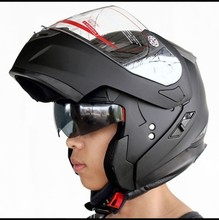 Cheap authentic timeless motorcycle helmet full face helmet dual lens YH-953