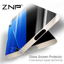 ZNP 3D Full Screen Cover Film 0.3mm For Samsung Galaxy S7 S6 Tempered Glass for Samsung S6 G9200 S7 G9300 Screen Protector glass