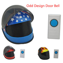 Innovation!! New and attractive design of family care product,Helmet Style Musical Doorbell,(China)