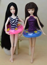 8.5cm Swimming Buoy Lifebelt Ring For Barbie Doll Accessories For Monster toys dolls,Baby Toys best Gift(China)