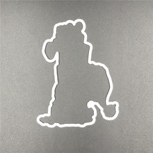 Gift Bear  Metal Cutting Dies and stamp Stencils for DIY Scrapbooking/ Decorative Embossing DIY Paper Cards Making A560