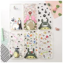 New cute cartoon silicone totoro silicone soft TPU case cover for iphone 6 6S 6plus 6splus 7 7plus free shopping