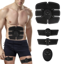 Abdominal Trainer Fitness Slimming Body Sculptor Muscle Trainer Butterfly ab Gymnic Belt Massager Pad Abdominal Muscle Exerciser(China)