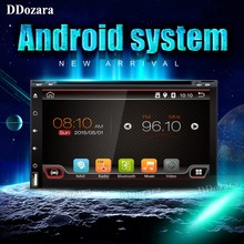 Quad Core 2 Din Android 6.0 Fit NISSAN QASHQAI Tiida Car Audio Stereo Radio GPS TV 3G WiFi dvd automotivo Universal DDR3(China)