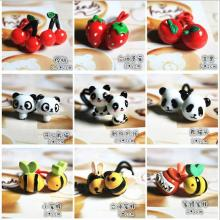 Children's hair accessories headwear Korea Meng Department of cute cartoon animal hair ring series(China)