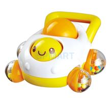 Baby Rattle Mobile Cartoon Car Shape Rattles Baby Toy Sounding Toys Toddler Toys 11.5x9cm