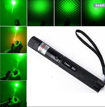 High quality Green Laser 10000mw High power laser 303 Lazer Laser Pointer presenter with safe key light match pop balloon