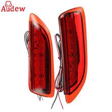 For Toyota Corolla/Lexus CT200h 2Pcs Reflector Rear Back Car Tail LED Bumper Brake Stop Running Light
