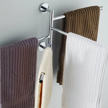 2016 New 4 Layers Stainless Steel Bathroom Towel Rack Holder Polished Rack Holder Hardware Accessory Bathroom Haing Organizer
