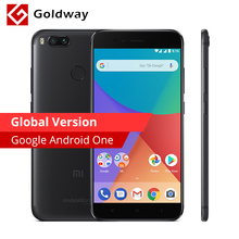 Global Version Xiaomi Mi A1 MiA1 Mobile Phone 4GB RAM 64GB ROM Snapdragon 625 Octa Core 12.0MP+12.0MP Dual Camera Android One(Hong Kong)